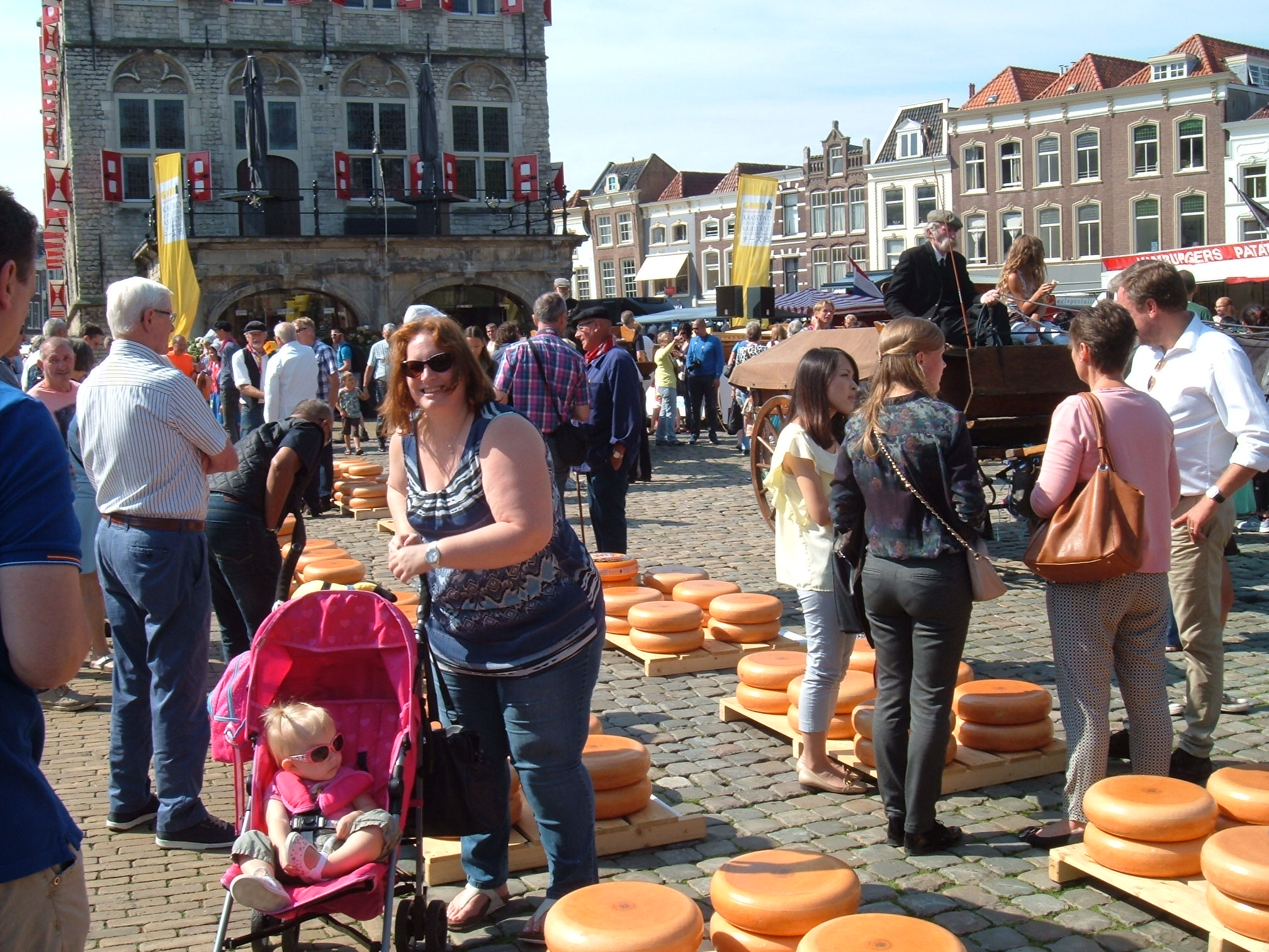 Gouda Cheese Market (the Netherlands)