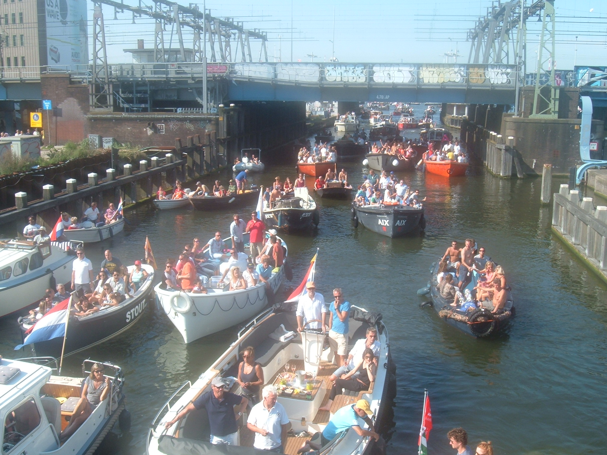 Small Boats at Amsterdam Sail 2015