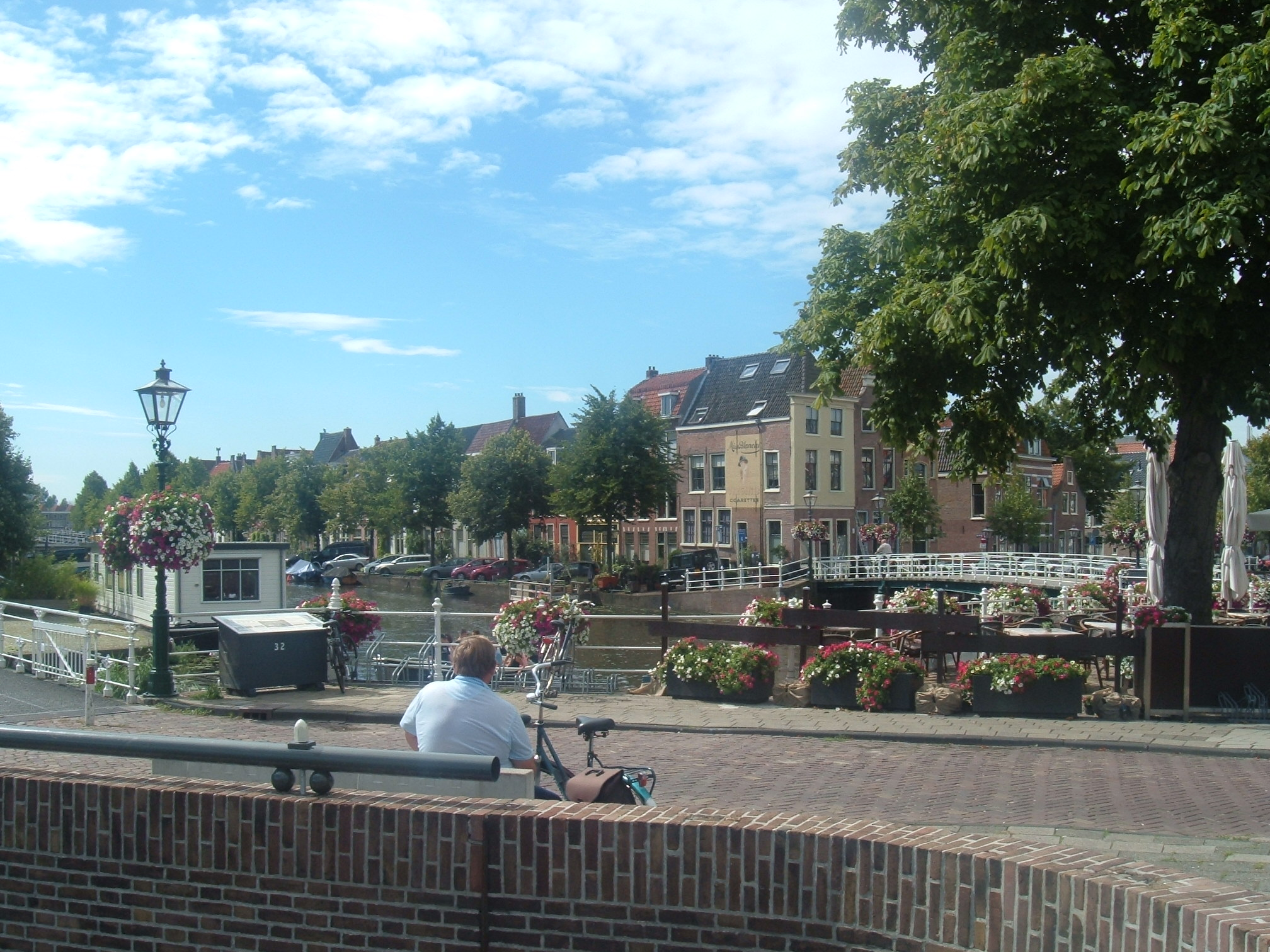 A Sunny Day in Leiden (the Netherlands) (August 2015)
