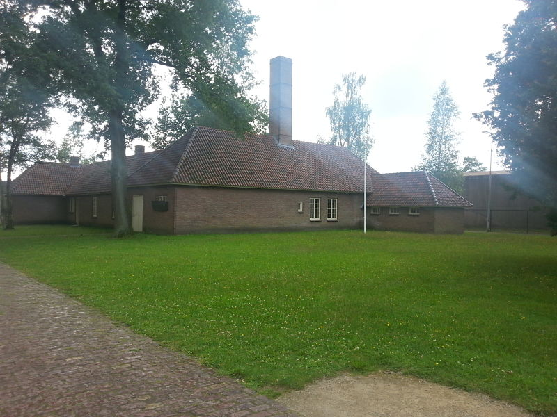 The Crematorium at Kamp Vught