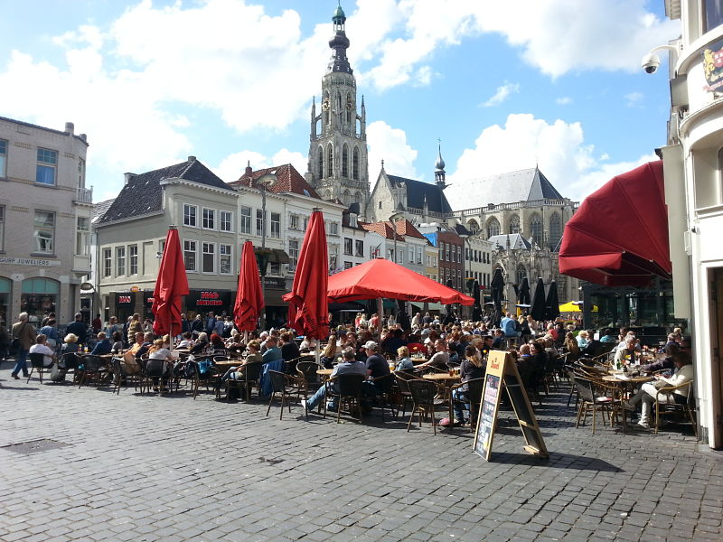 The Grote Markt, Breda, The Netherlands
