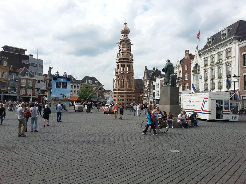Cardboard Tower Den Bosch