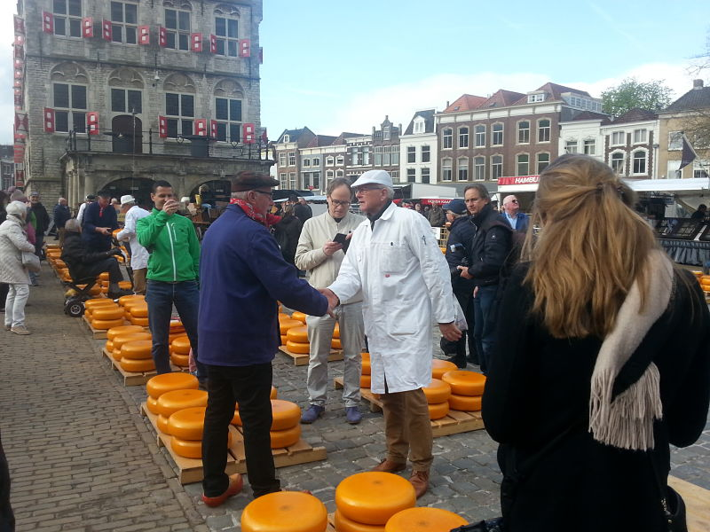First Gouda Cheese Market 2017