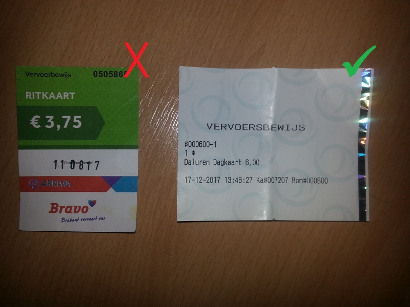Arriva Buses No Longer Accepting Cash in the Netherlands