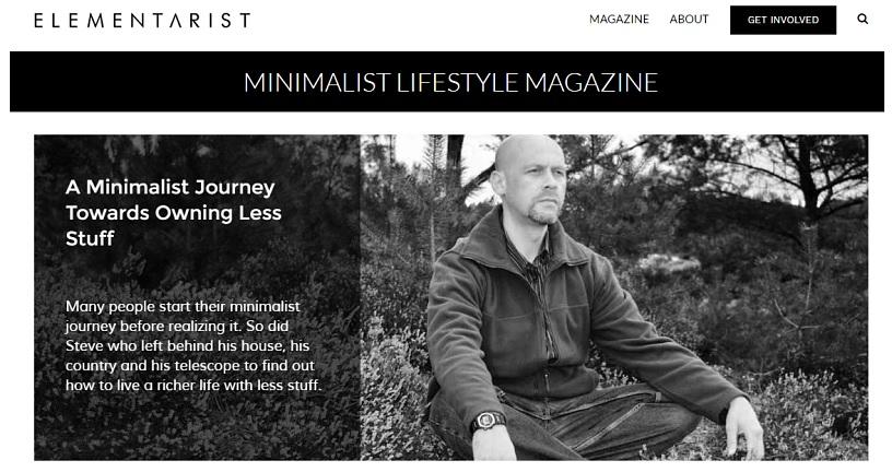 Minimalist Lifestyle Magazine
