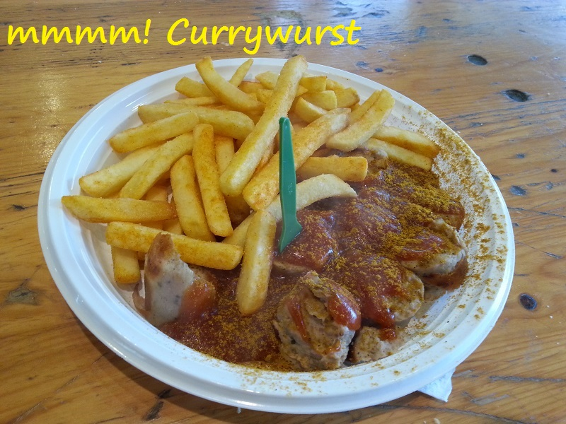 German Currywurst: A Fast Food Dish Inspired by a Blending of Cultures