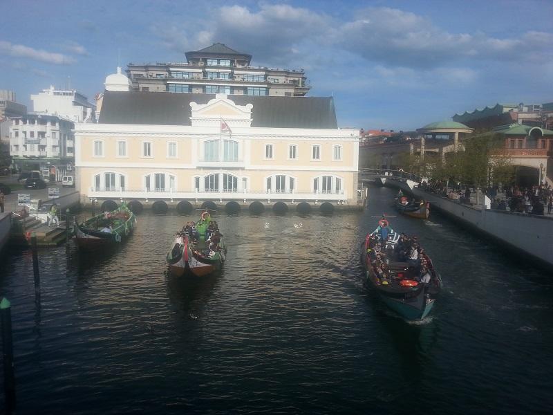 Gondola Ride Start Point (Aveiro, Portugal)