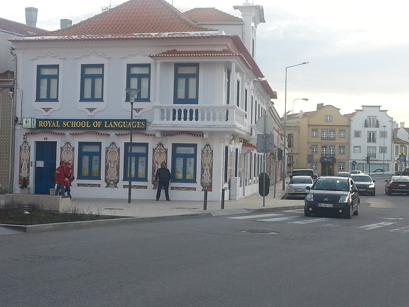 The Royal School of Languages, Aveiro, Portugal