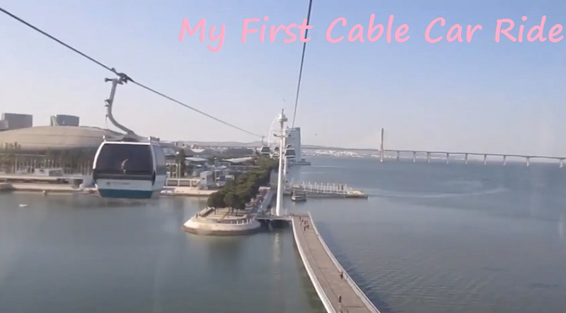 My Cable Car Ride in Lisbon