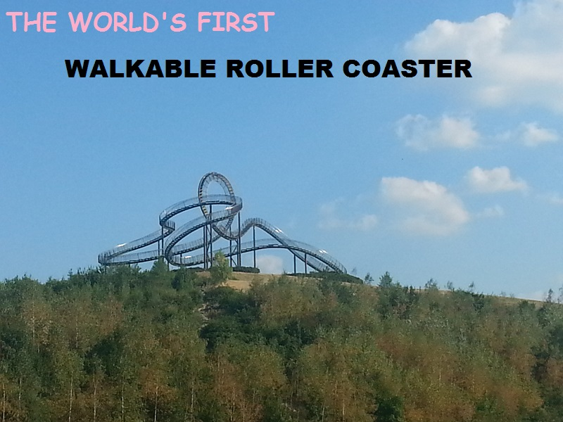 Tiger and Turtle Magic Mountain: The Only Pedestrian Roller Coaster in the World