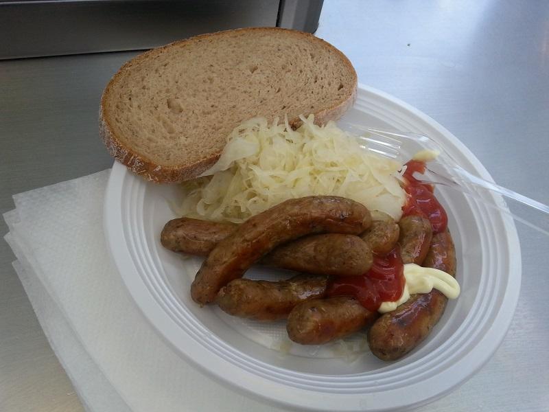 Czech Sausage and Sauerkraut