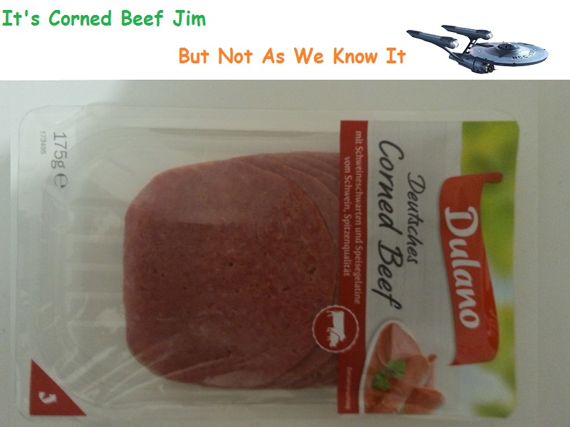 German Corned Beef Is Nothing Like English Corned Beef