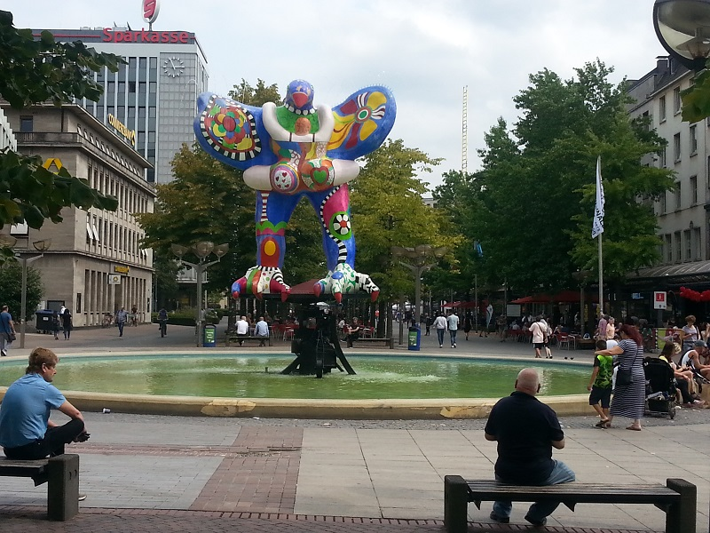The Lifesaver Fountain in Duisburg: What's That All About?