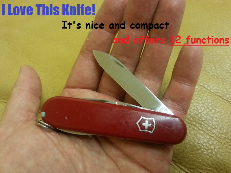 Swiss Army Knife Review: The Victorinox Spartan