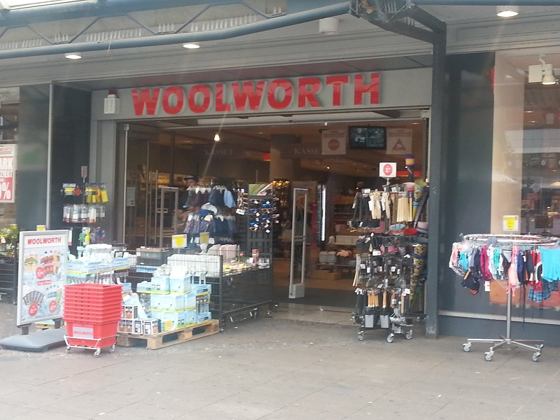Woolworths Stores Are Still Going Strong in Germany