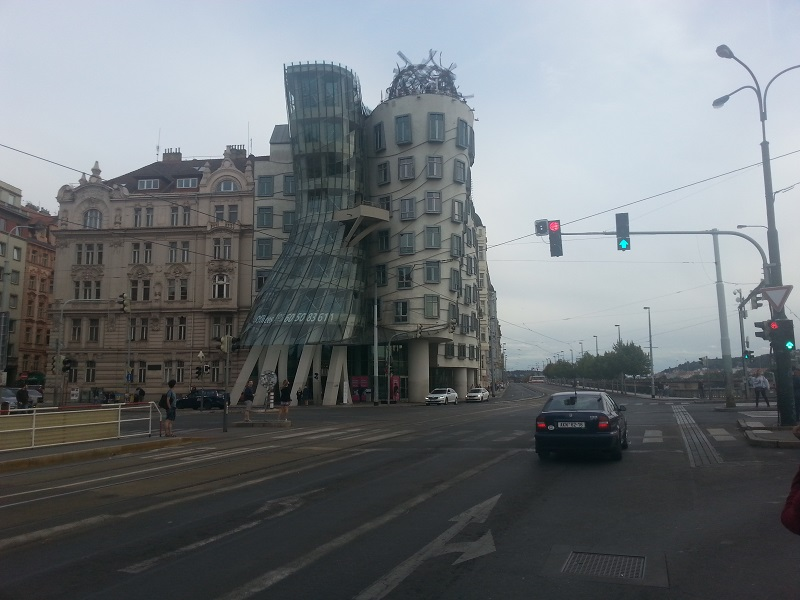 The Dancing House, Prague