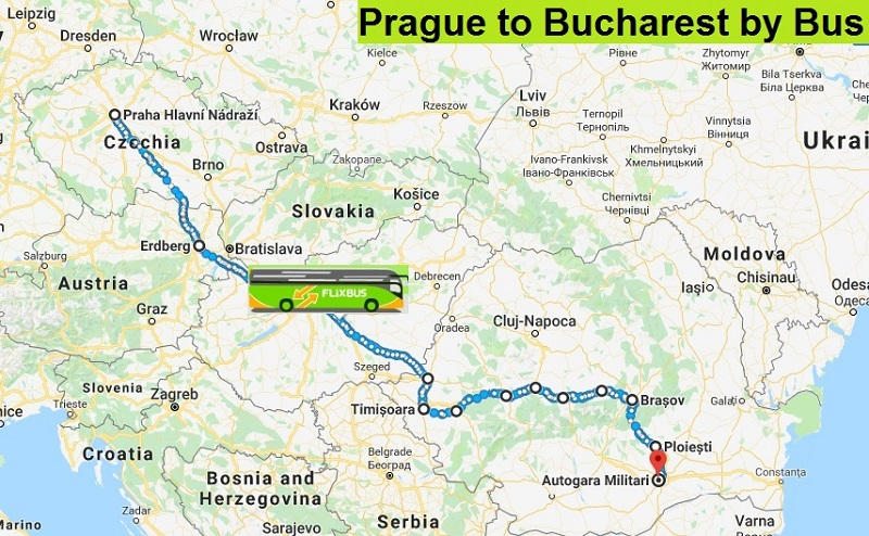 24-Hours of Travel: My Flixbus Journey from Prague to Bucharest