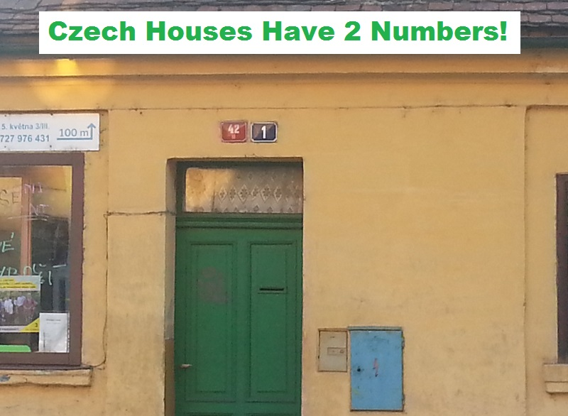 Why Do Czech Houses Have Two Numbers? (Learn the Secret of Those Red and Blue Plates)