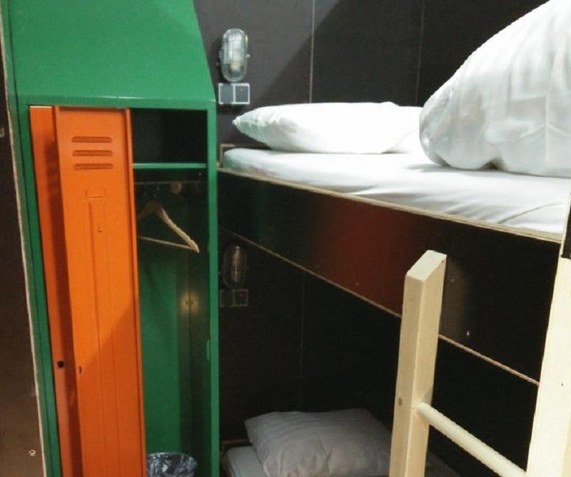 Bunk Bed in Hostel Dormitory