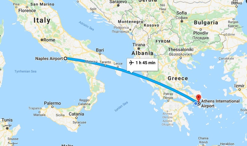 Naples to Athens with Easy Jet: Unusual Baggage Restrictions