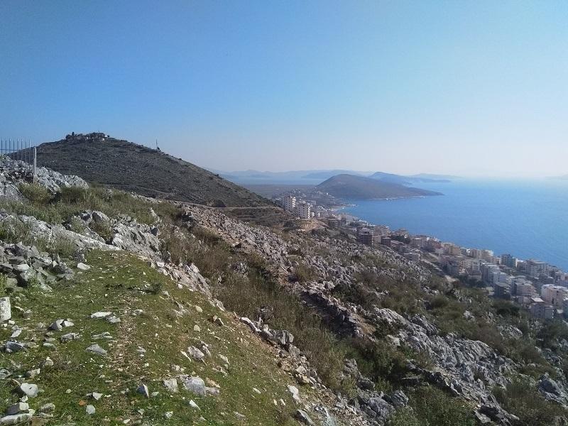View from 40 Martyrs Monastery (Saranda, Albania)