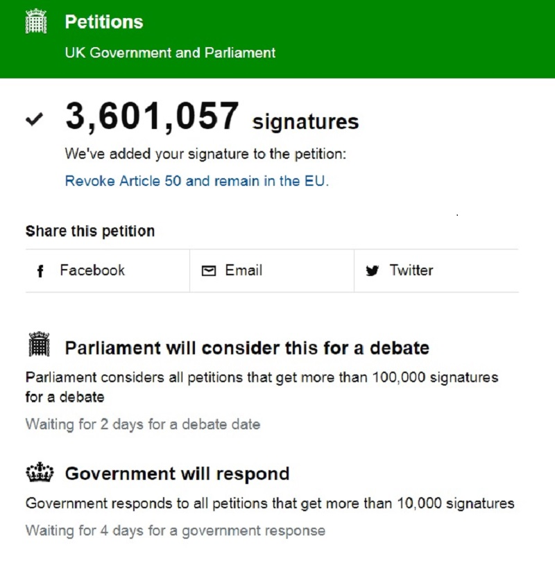 It's Still Not Too Late to Sign the Petition to Stop Brexit
