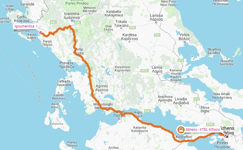 Athens to Igoumenitsa by Bus (What You Need to Know)