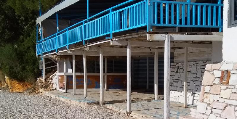 Deserted Cocktail Bar (Ksamil Beach, Near Saranda, Albania)