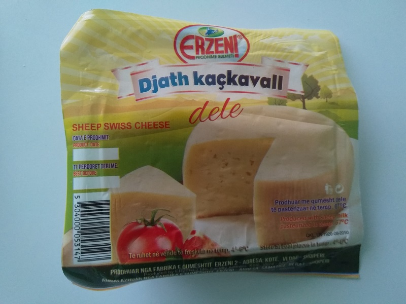 An Unpleasant Experiment with Albanian Sheep Milk Cheese (YAK!)