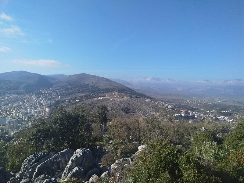 Photo Taken from Lëkurësi Castle (Saranda, Albania)
