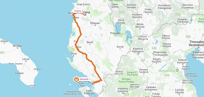 Why the Bus Is the Best Way to Travel From Saranda to Tirana