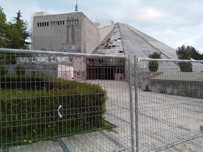 The Former Enver Hoxha Museum in Tirana, Albania (AKA the Tirana Pyramid)