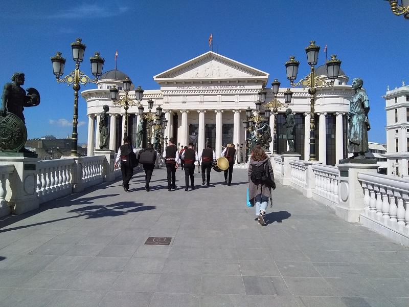 Bridge of Civilizations in Macedonia