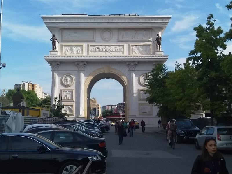 Porta Macedonia Arch (Macedonia)