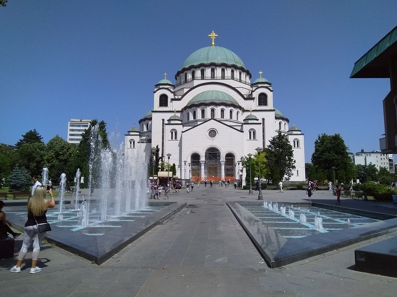 The Church of Saint Sava: Looking Good Despite the Renovations