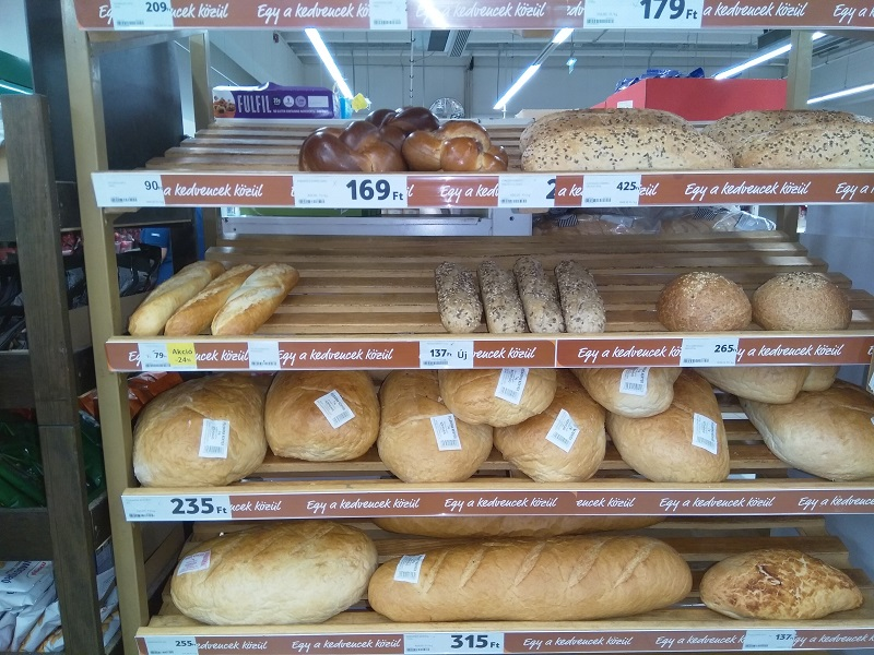 Thoughts Inspired by Hungarian Supermarket Bread