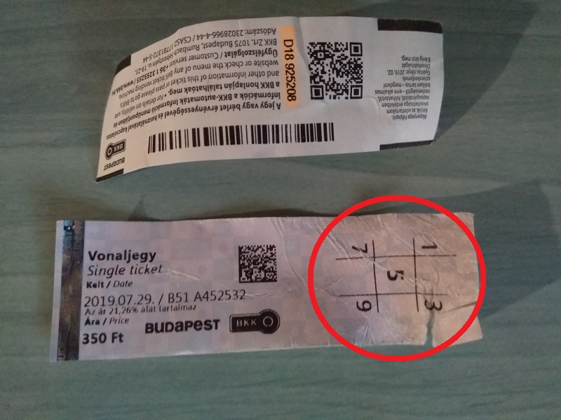 How to Spot a Real Budapest Tram Ticket