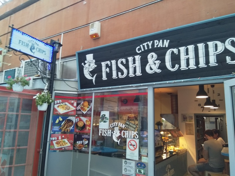 City Pan Fish & Chips: British Fish and Chips In Hungary?
