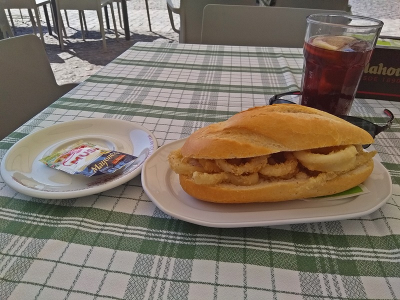 I Ate My First Calamari Sandwich in Madrid