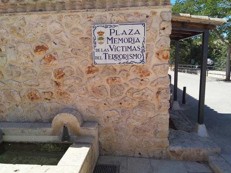 Tiled Memorial Plaque