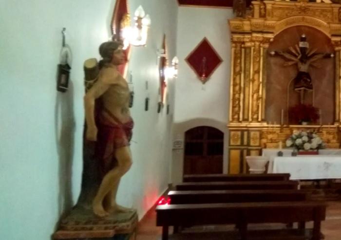 Statue of St. Sebastian