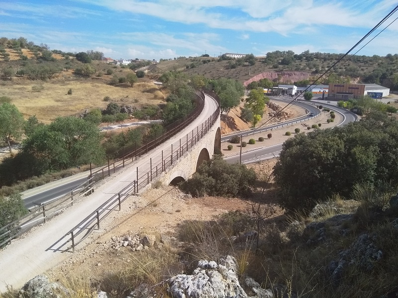 Mondejar Viaduct: There Are No Trains, but It's a Nice Place for a Walk