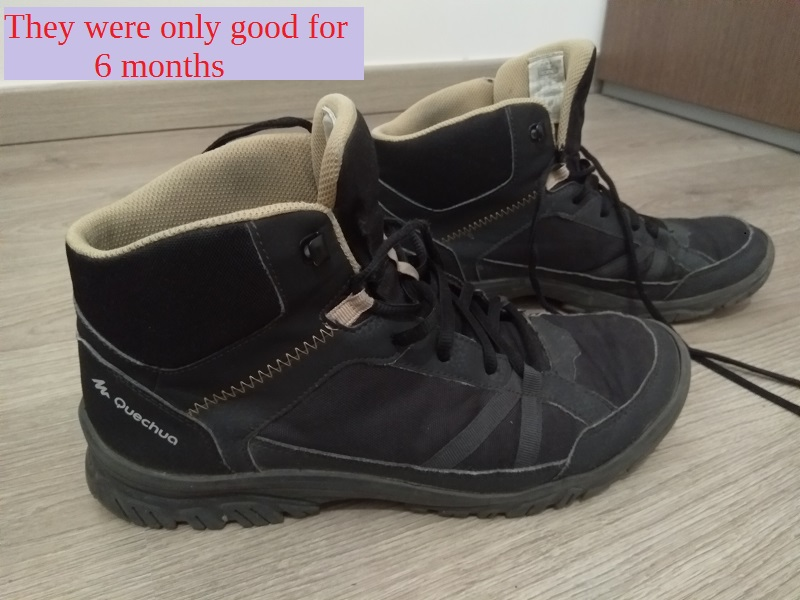 Quechua NH100 Hiking Boots Review (Cheap, but They Can't Go the Distance)